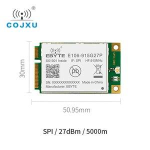 Módulo da lora da maneira da porta sx1301 na relação 27dbme106-915g27p do rf 915 mhz spi da comunicação transceptor sem fio de longa distância
