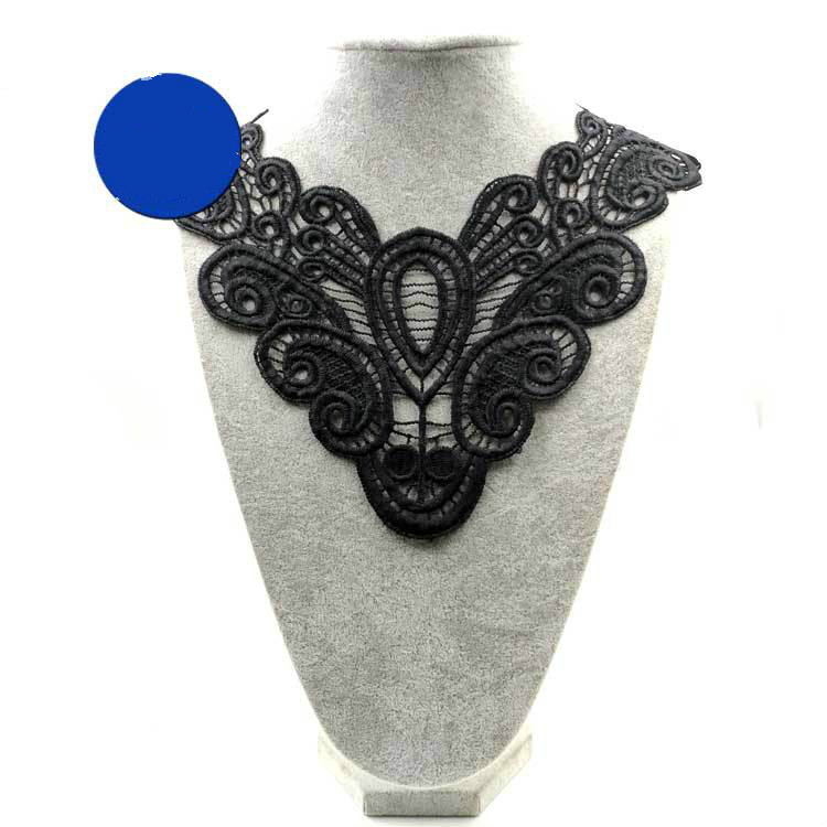 Emboidery Neck Collar Diy  Fake Detachable Collars Water-soluble Women Corsage Three-dimensional Lace Accessories