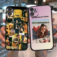 PUNQZY mate estilos amor Tour 2020 bien Line teléfono caso para iphone 11 Pro Max XR 6s 6s 7s 7s 8 s 8 Plus X XR XS MAX 12 Pro Max caso