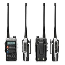 Baofeng-BF-UVB2PLUS Walkie Talkie рации 10W 136-174/400-520MHZ Dualband VHF/UHF Two Way FM Radio tyt Walkie-Talkie рация баофенг