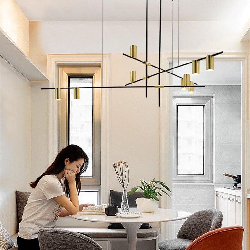 Nordic Designer Tribes For Ceiling Decor Interior Light Home Ceiling Pendant Lamp Geometric Chandelier Lighting Fixtures Chandeliers Aliexpress