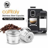 ICafilas Koffie Filters Voor Caffitaly Tchibo Cafissimo K-vergoeding Hervulbare Crema Capsule Pod Roestvrij Staal Koffie Sabotage