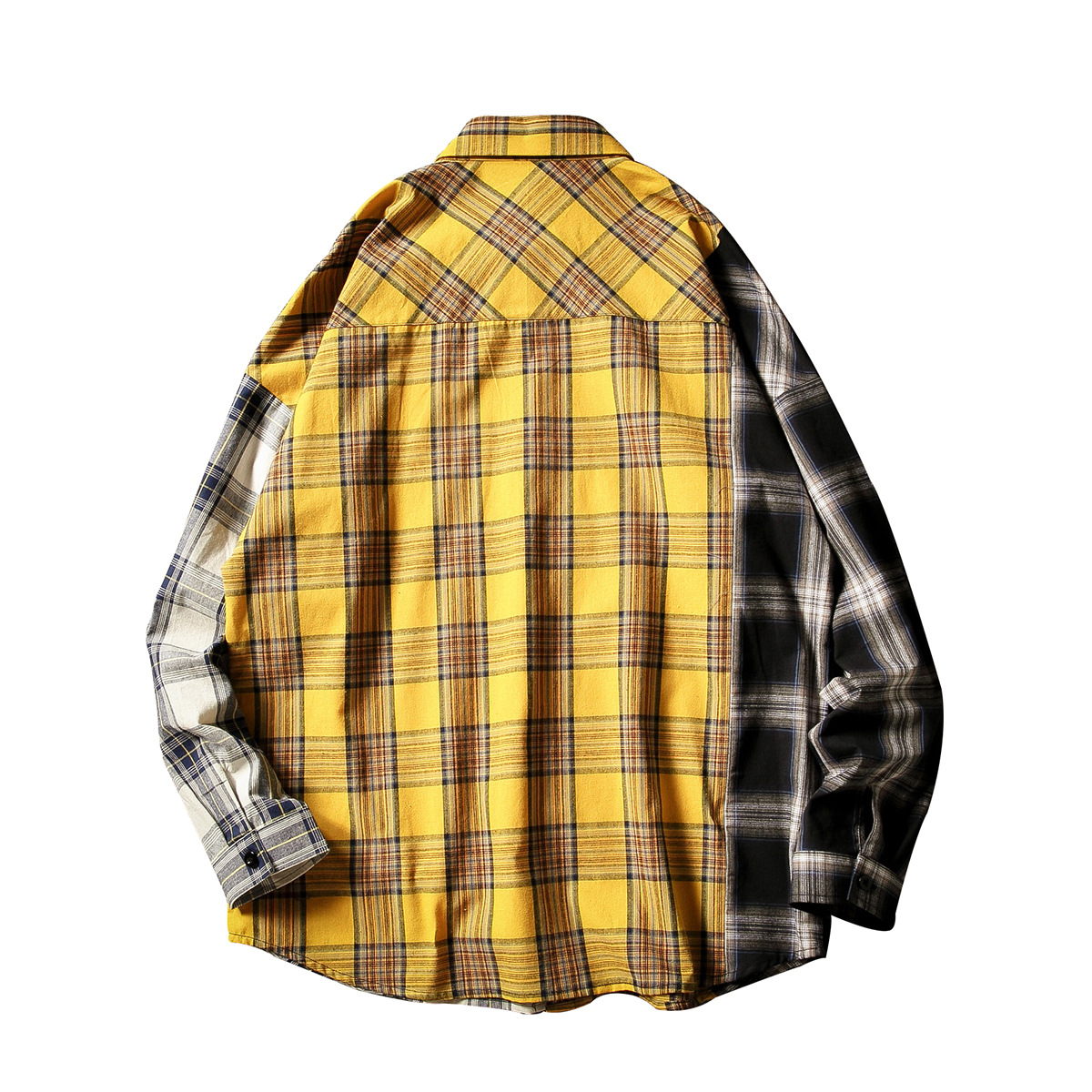 BTS Idol SUGA Unisex Plaid T-Shirt