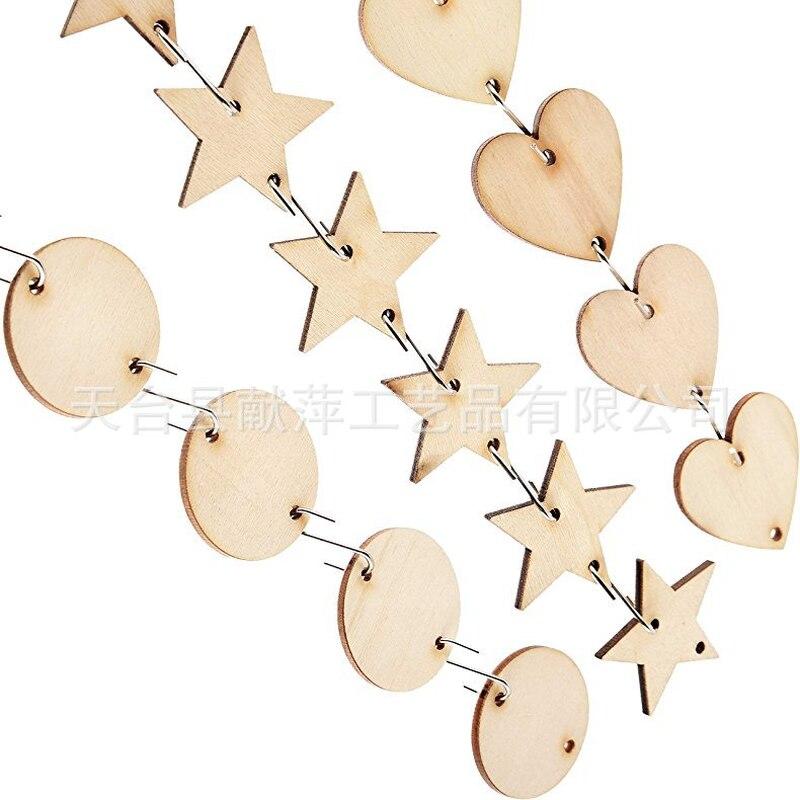 100 шт деревянные диски пустая деревянная знаки теги круглый Форма естественные необработанные деревянные ломтик Изделия из дерева идеальн...