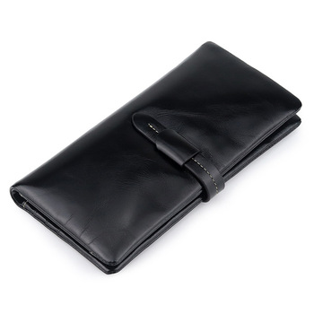 Women's Long Wallet Leather New Handbags Fashion Simple Hand Clutch - discount item  20% OFF Wallets & Holders