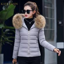 Kate Kasin Winter Jacket Coats Women Fashion Long