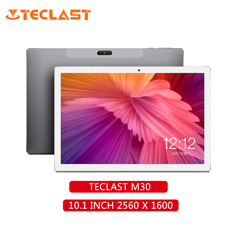 Teclast M30 10.1 Inch 4G Phablet Android 8.0 MT6797X (X27) 1.4GHz Decore CPU 4GB RAM 128GB EMMC ROM 5.0MP+2.0MP GPS Tablet PC