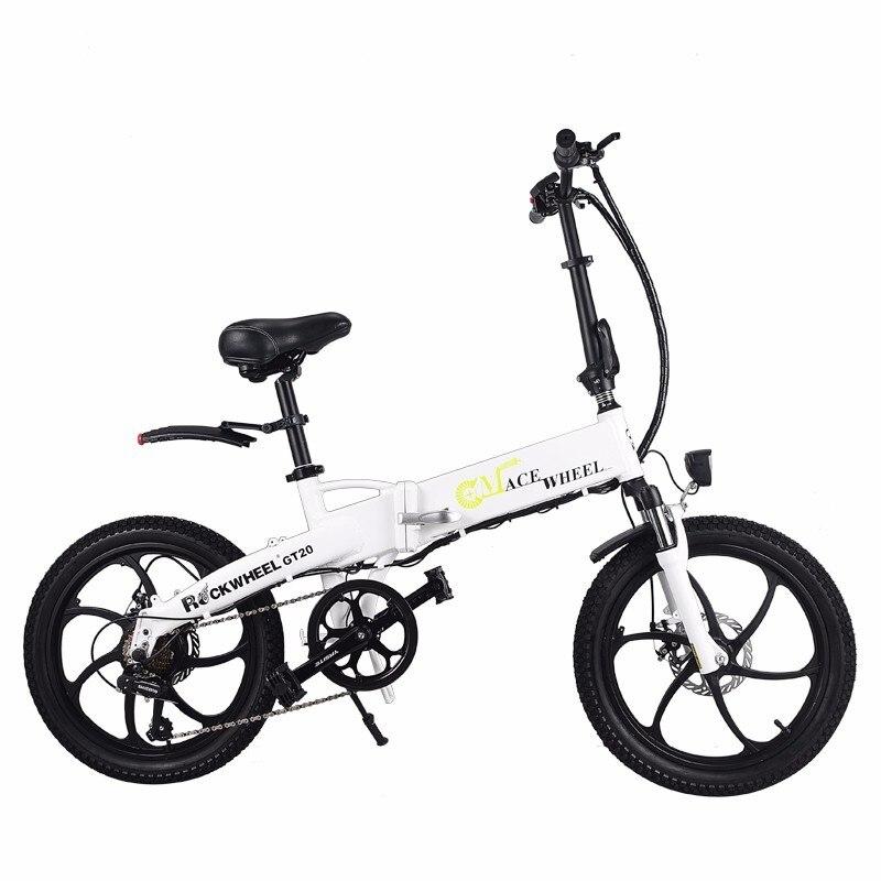 Folding bike Aluminum Electric electric Bicycle 20inch 400W Powerful Mottor 48V10A Battery 32km/h Mountain e bike city/Snow bike 10
