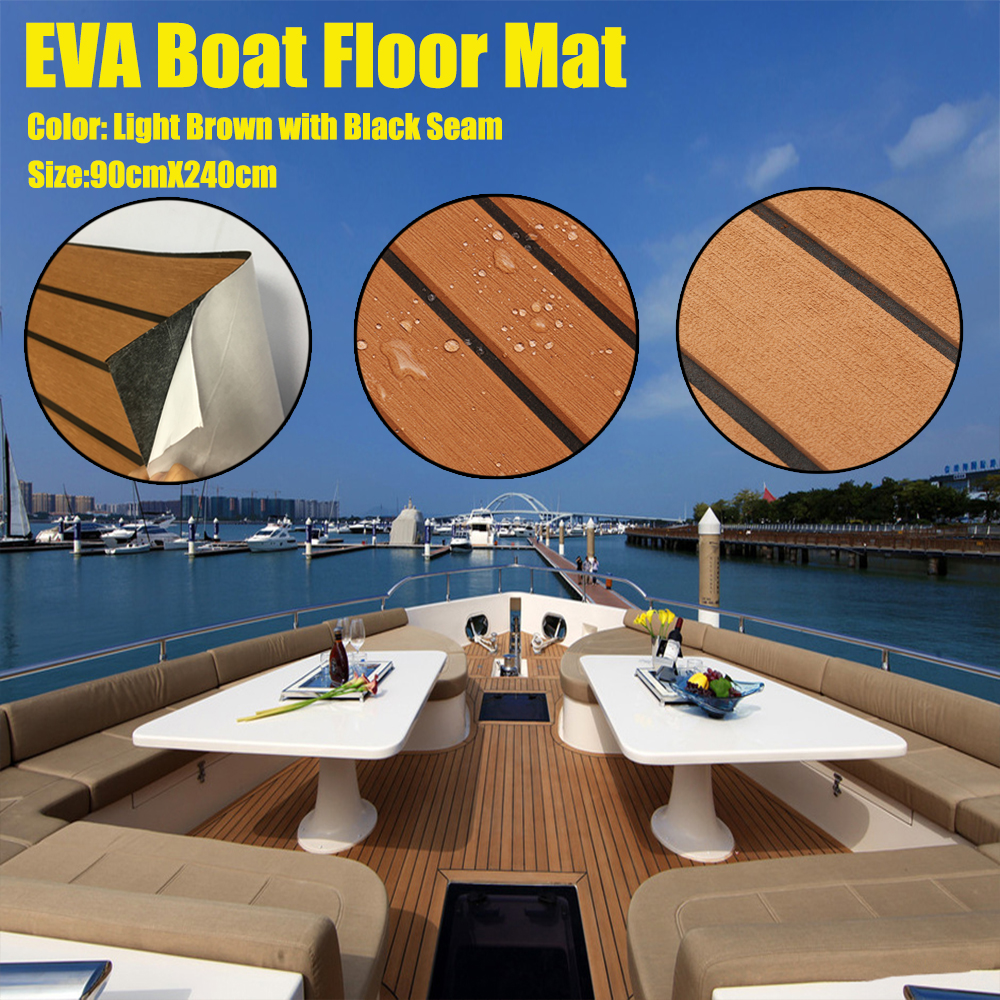 Mehrzweck /& Selbstklebend, EVA Teak Deck Sheet für Marine Yacht Decking Matte