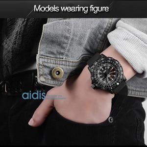 Image 5 - Aidis Männer Military Uhren Top Marke Fahsion Casual Sport Wasserdichte Outdoor Silikon Quarzuhr Männer Männlich Uhr Armbanduhr
