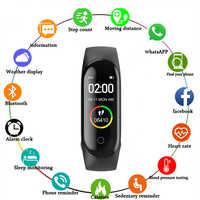 M4 plus Smart Armband Smart Armband mit Ersatz Riemen Smart Band Herz Rate Aktivität Tracker Fitness Smart Uhr M4 Pro