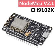 Wireless module NodeMcu V2.1 CH9102X (CP2102 Updated version ) Lua WIFI Internet of Things development board based For Arduino