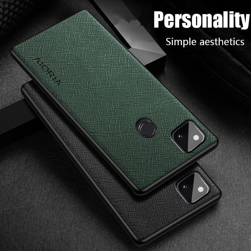 Anti-Fingerprint Matte Thin Case For Google Pixel 4A 5G 5 4 XL Slim Lightweight Phone Bag Coque Back Cover