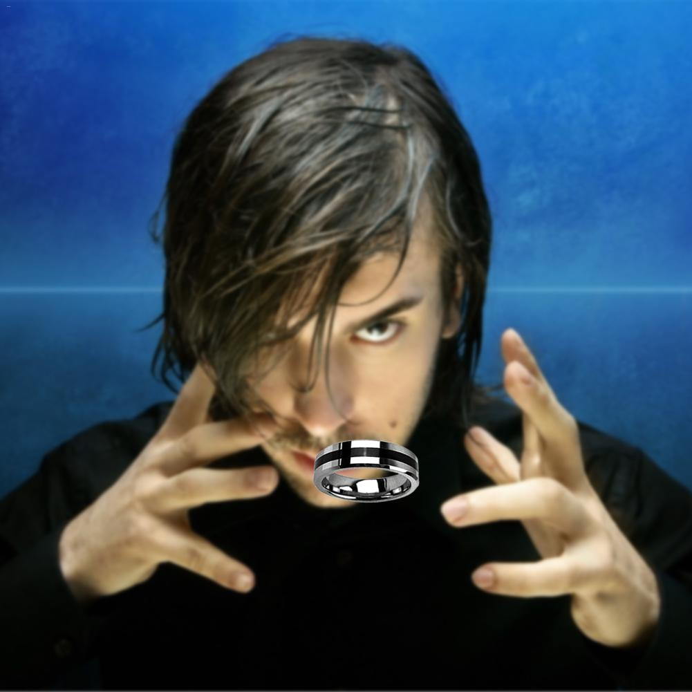 Magic Show Magic Trick Floating Ring Magic Flying Card Floating Coin Effect Invisible Suspension Magic Props Thumb Rings