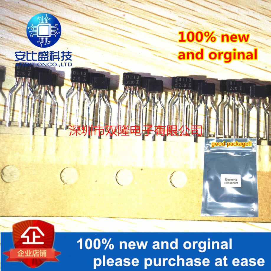 10pcs 100% New And Orginal DTD113ZS D113ZS TO-92S  In Stock