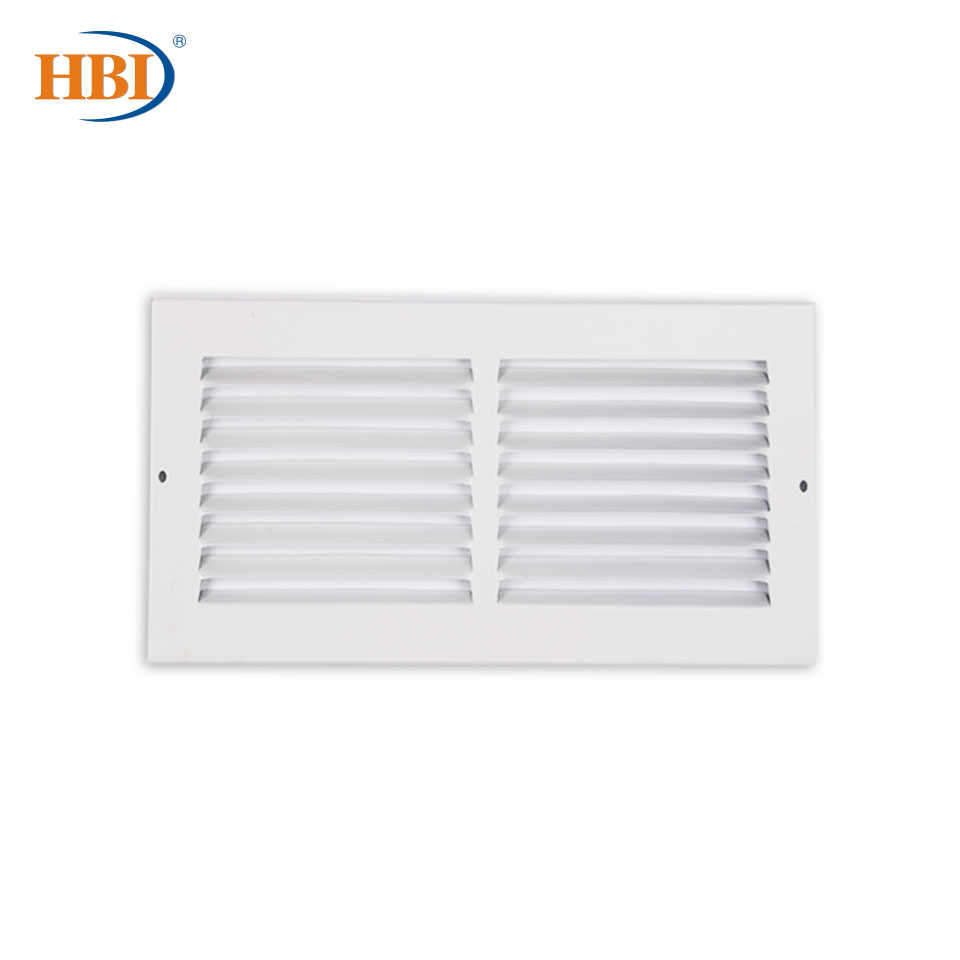 Steel White Finished Return Air Grilles