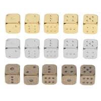 Milti-dados de 6 lados para juegos de mesa, dados D6 para MTG, RPG, DND, 5 piezas