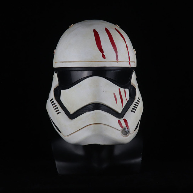 Star Wars Imperial Stormtrooper Mask Cosplay The Rise of Skywalker Latex Helmet Masks Halloween Party Props 5