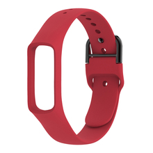 Wrist Band Holder Bracket Straps Case Sport Smartwatch Accessories Belt Adjustable Soft Silicone Buckle For Galaxy Fit E R375