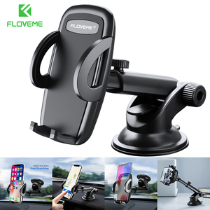 FLOVEME Silicone Pad Gravity Car Phone Holder Stand Universal Dashboard Windshield Car Mount Mobile Holder For Phone Support
