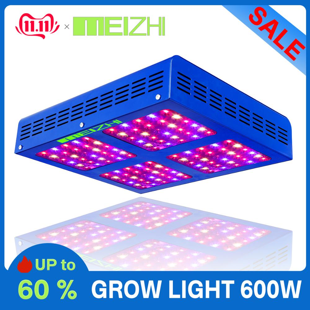MEIZHI Reflector LED 600W Led Grow Light Full Spectrum For Seeds Indoor Garden Hydroponic Systems Plant Growing Light On Sale