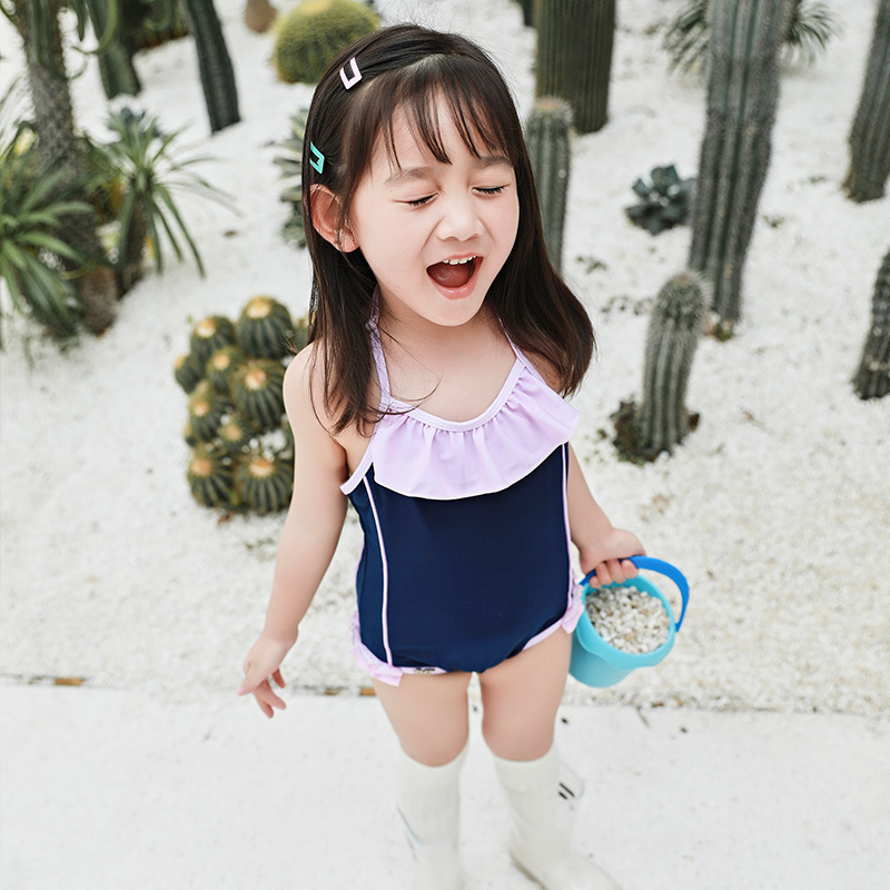 IEMOX/Iemox KID'S Swimwear Women's Japanese-style Cute One-piece Baby Swimwear Girls Big Boy Tour Bathing Suit
