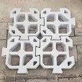 Splicable Puzzle цементные античные кирпичные формы квадратная садовая дорожка прессформы резьба противоскользящие бетонные пластиковые формы д...