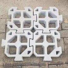 Splicable Puzzle Cement Antique Brick Mold Square Garden Pat