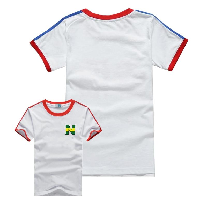 Tcamp Japan Novelty Captain Nankatsu Tsubasa 2018 World Soccer Championship Little Infant Baby Short Sleeve Bodysuit