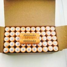 100% nowa oryginalna Bateria 3,7V 18650 ,9900MAH Bateria Recarregvel Para Lanterna Linterna LED ou pruebas Eletr Hanicos Ba