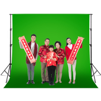 Photography 3X7M Background Backdrop Stand Support System Kit for Photo Studio Muslin Backdrops Paper & Canvas with Carry Bag