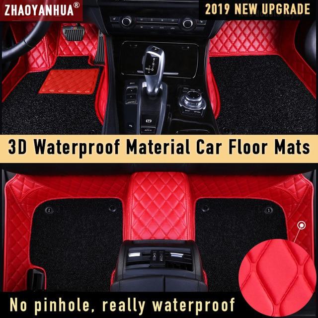 Tapis de sol de voiture pour mazda 2019 jaguar xf kia carens suzuki vitara accessoires de voiture imperméables tapis de sol en cuir