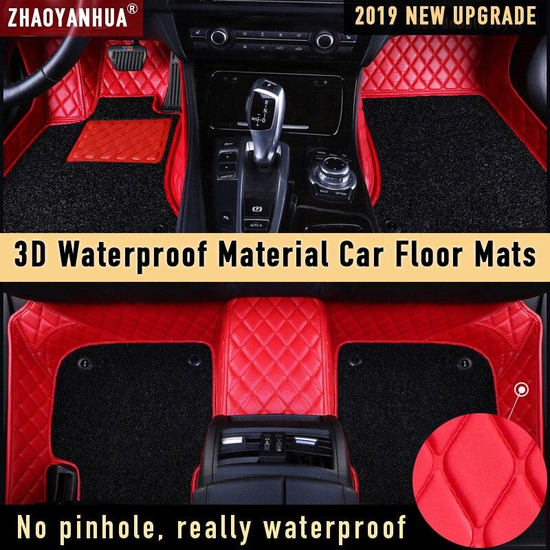 Tapis de sol de voiture pour 2013 toyota hilux Lexus rx200t audi q7 2012 bmw x6 étanche accessoires de voiture en cuir tapis de sol doublure de tapis