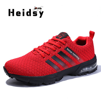2020 Fashion Damping Sneaker Mens Shoes Breathable Lightweight Outdoor Casual Lace Up Luxury Brand Mens Shoes Zapatos De Hombre