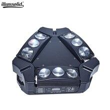 Spider-Light Disco-Bar Moving-Head 9x12w DJ DMX512 MINI KTV RGBW LED Used-In