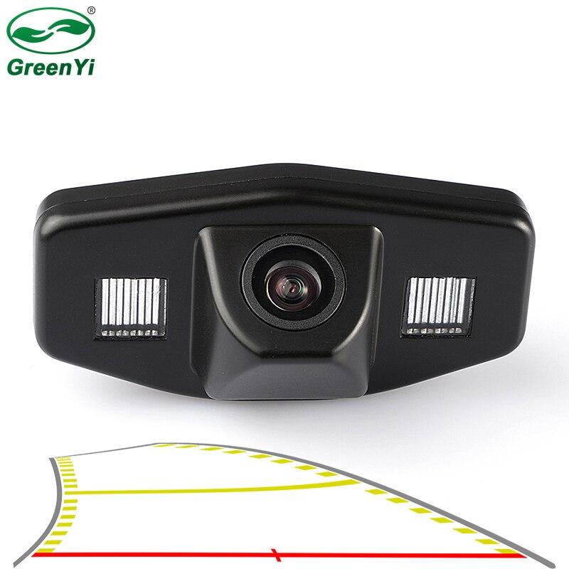 4089T динамический траектории парковки линии автомобиля заднего вида Камера для Honda Accord пилотный гражданский EK FD одисс