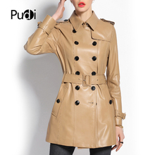 Jacket Real-Leather Coat Female Winter Women Pudi Girl A29053