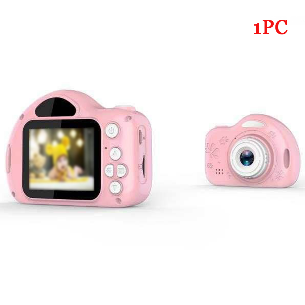 Easy Operate Mini Bluetooth Kids Camera Gift Funny Children Song Toy LCD Screen Cute Photo Video Recording ABS Portable
