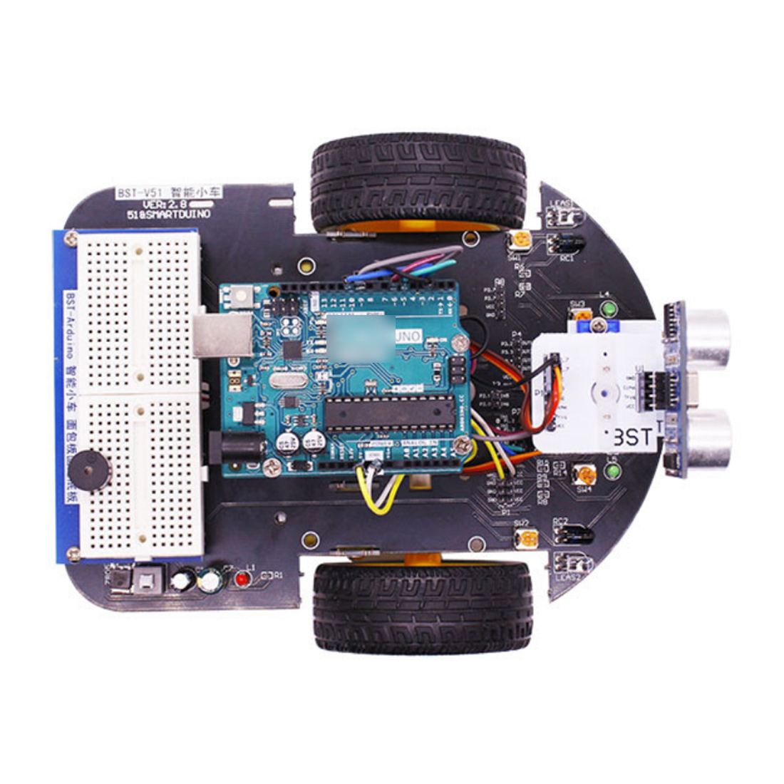 Hot 2-In-1 Project Super Starter Kit Smart Robot Car With Tutorial Programme Stem Toys For Arduino (Including UNO R3 Mainboard)