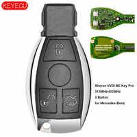 Teclado Xhorse VVDI BE Key Pro versión mejorada llave remota completa 315 MHz/433 MHz para mercedes-benz