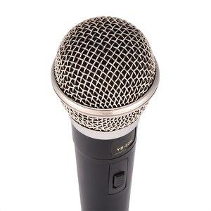 Image 3 - קריוקי מיקרופון כף יד מקצועי Wired דינמי מיקרופון ברור קול מיקרופון לקריוקי חלק ווקאלי מוסיקה ביצועים חם