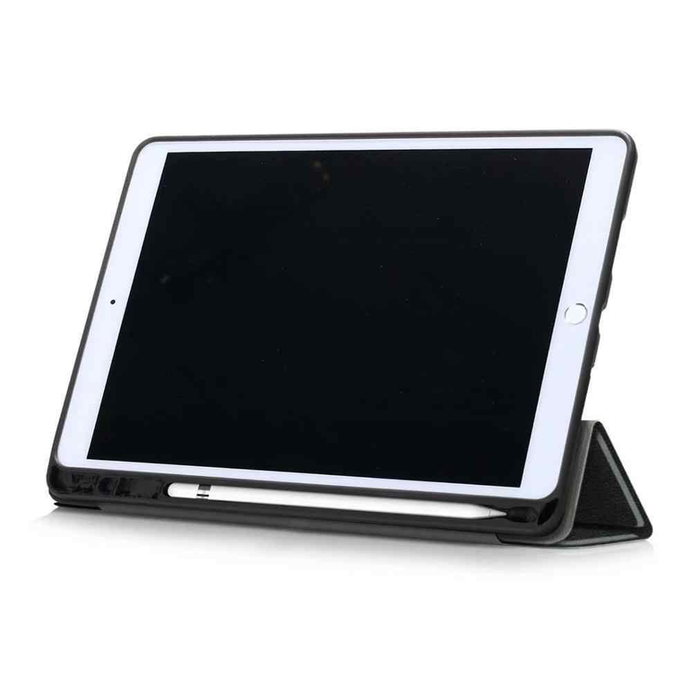 Funda ultrafina para iPad 10,2 2019 A2200 A2198 A2232 soporte plegable magnético inteligente Funda para iPad 10,2