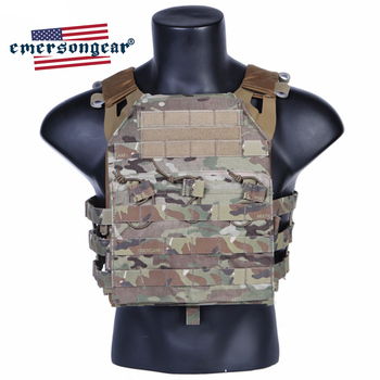 Emersongear JPC Tactical Vest Body Armor Heavy Harness Molle Plate Carrier Military Army Airsoft Wargame Hunting Combat Gear military army combat jpc plate carrier molle vest tactical outdoor hunting shooting men airsoft paintball protective body armor