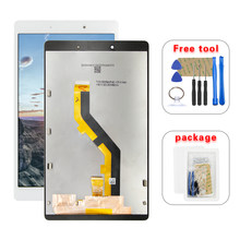 "Tela lcd 8.0 ""para samsung galaxy tab a, 8.0 2019 t290 t295 display lcd + touch screen digitalizador montagem do conjunto(China)"