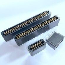 5 шт. 2,54 мм Шаг 4P6P8P10P12P14P16P18P50P56P-84P край разъеме sim-карты слот разъем шины золочение краевого разъёма разъем печатной платы прямой контакт