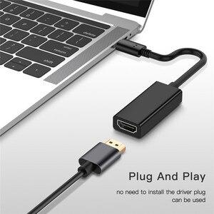 Image 5 - USB 3.1 di Tipo C a HDMI Adattatore Maschio a Femmina Audio Video Converter USB C Cavo per Samsung Galaxy S8 Più per Huawei P20