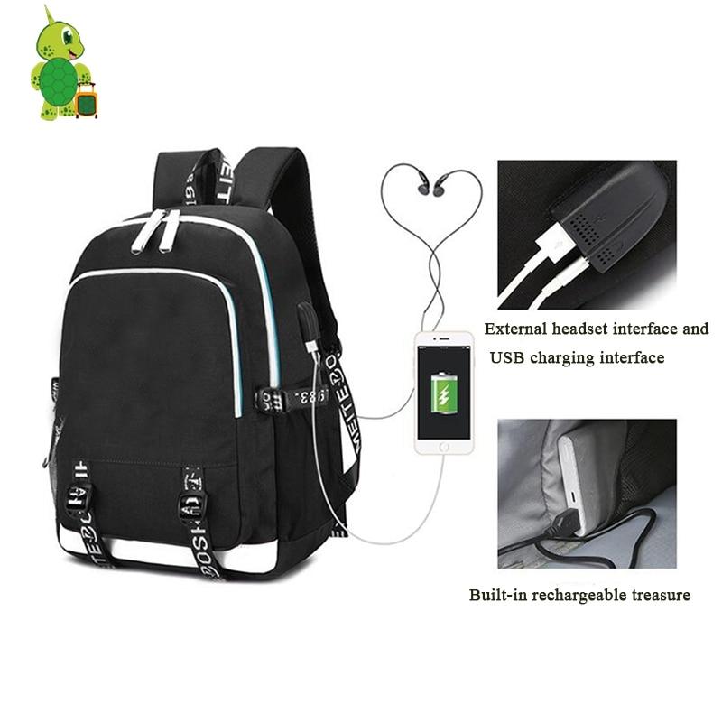 Mochila The Legend of Zelda Backpack Women Men 39 s USB Charging Backpack Multifunction Teens School Bags Travel Laptop Bagpack in Backpacks from Luggage amp Bags