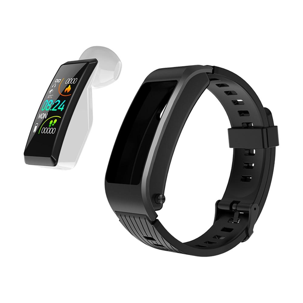 S2 Bluetooth Wireless headset smart watch Health Tracker Fitness Bracelet Plus Smart Wristband earphone for sport charger box Bluetooth Earphones & Headphones    - title=