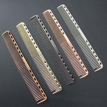 Peigne à cheveux en aluminium, petit espace, 1 pièce, pour coiffure professionnelle, coupe de cheveux, brosse à teindre, outils de barbier, accessoires de Salon