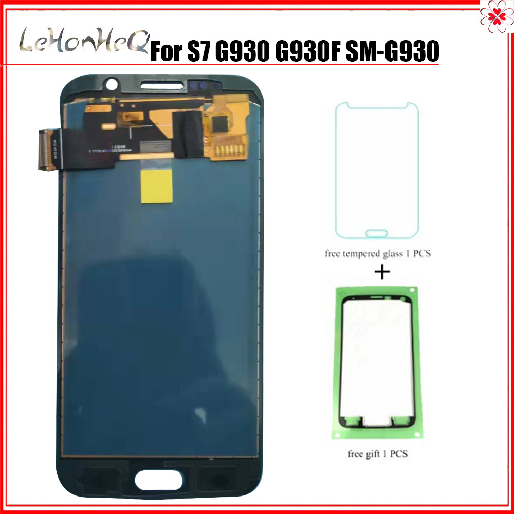 Test new LCD For Samsung <font><b>Galaxy</b></font> <font><b>S7</b></font> G930 <font><b>G930F</b></font> G930A G930P G930V <font><b>Display</b></font> Touch Screen Digitizer Assembly LCD image